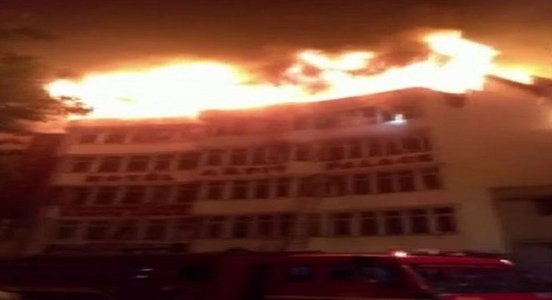 "Delhi: 17 killed and many injured in ""Arpit"" hotel fire"