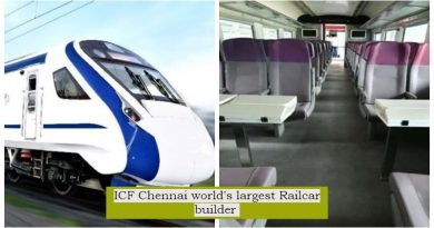 Chennai ICF creates history! Indian Railways ICF becomes largest rail coaches marker in the world