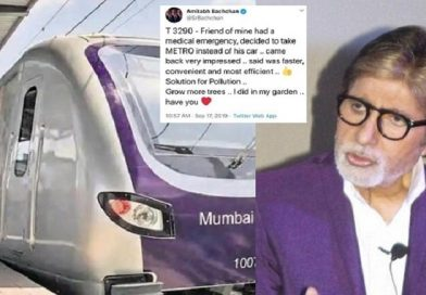 'Mumbai metro is must', Big B backs Aarey metro line