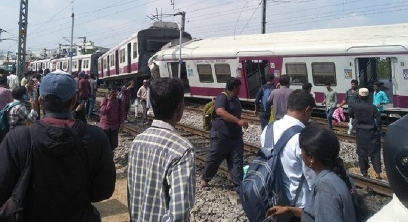 Tragic incident: Several injured in collision of two trains at Kachiguda station in Hyderabad