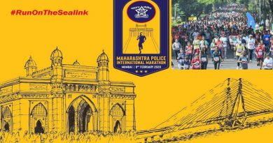 Maha Police organized International Marathon in Mumbai