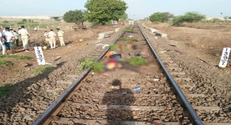14 migrant laborers crushed by goods train in Aurangabad